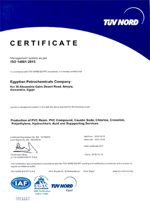 Egyptian Petrochemicals Company